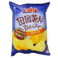 【超级生活馆】上好佳烤肉味薯片50g(编码:113678)