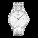 天梭(TISSOT)手表 俊雅系列全钢石英男表T063.610.11.037.00【名表惠】