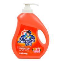 【天顺园店】荷嫂玫瑰手洗洗衣液600g(编码:499684)