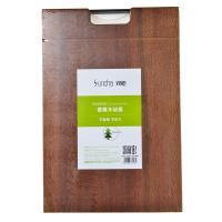 【天顺园店】双枪方形木工艺砧板45*30*3.5(编码:517125)