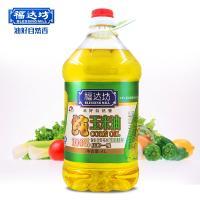 福达坊 100%纯玉米油 4L 非转基因食用油