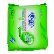 【超级生活馆】心相印卫生系列10+6片装方形湿巾1*1(编码:537313)