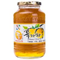 【天顺园店】★韩韵蜂蜜柚子茶1000g(编码:518961)