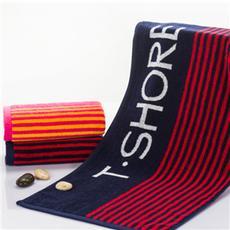 花果果 型支柱运动巾 运动条纹毛巾 简约风柔软吸水亲肤