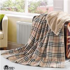 花果果 英伦格 布艺浴巾 纱布纯棉双面浴巾 强吸水柔软舒适
