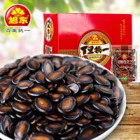 旭东盒装话梅西瓜子30袋(共600g)零食坚果炒货黑瓜子仁脆年货特价