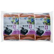 【超级生活馆】海之情葡萄籽油海苔4.5g*3(编码:572999)