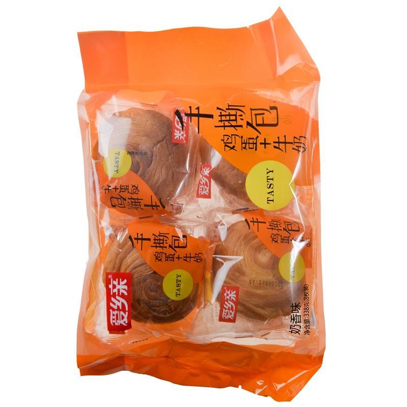 【天顺园店】爱乡亲手撕包奶香味338g(编码:562028)