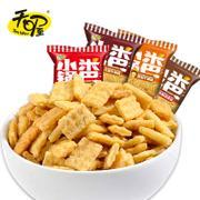 天喔小米锅巴500g番茄牛腩味 休闲膨化零食小吃散装小包装包邮