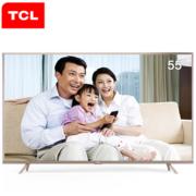TCL L55P2-UD 55英寸 真4K全生态HDR 21核安卓智能LED电视(香槟金)