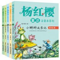 杨红樱童话注音本系列 美绘版 小蝌蚪成长记 偷梦的影子等5本套装小学生课外阅读书籍儿童文学