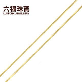 六福珠宝  06QG3099GAS  足金项链  金重:3.180克  工费:16/克