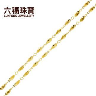 六福珠宝  06QG3099K6S  足金项链  金重:4.996克  工费:25/克