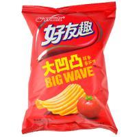 【超级生活馆】好丽友好又趣大凹凸薯片75g(编码:513230)