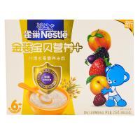 【天顺园店】雀巢金装宝贝营养+什锦水果营养米粉25g*9(编码:454234)