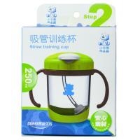 【天顺园店】小白熊吸管训练杯(绿色)1*1(编码:503824)