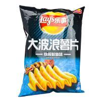 【天顺园店】乐事大波浪薯片铁板鱿鱼味70g(编码:542498)
