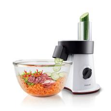 Philips/飞利浦 食品加工器HR1387 果蔬切配器 切片切丝剁碎 高速自动切菜机