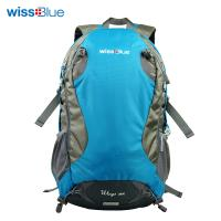 wissblue双肩登山包 户外运动包徒步野营旅行旅游背包背囊28L男女