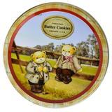 【超级生活馆】精典泰迪奶油味曲奇饼干(圆盒)113g(编码:538141)