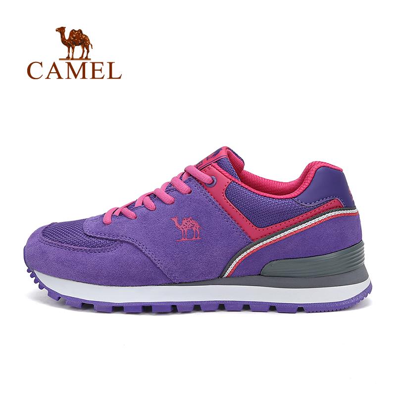 camel骆驼户外女款舒适越野跑鞋 女士防滑减震跑步鞋