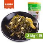 良品铺子 海带丝218g*2袋 泡椒味 开袋即食 独立小包装休闲食品