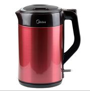 Midea/美的 QJ1503a 电水壶保温无缝防烫 304不锈钢电热水壶正品