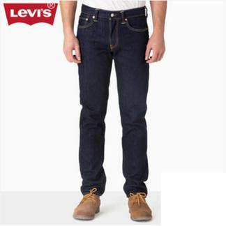 Levi's李维斯秋冬男士修身小脚牛仔裤长裤 00511-1234