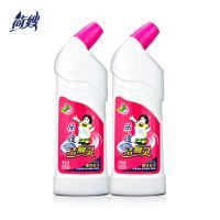 荷嫂 洁厕灵马桶清洁剂瓶装500g*2卫生间专用清香型杀菌除垢去味