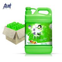 荷嫂 大米谷物洗洁精1.5KG*8瓶一箱装果蔬餐具清洗剂厨房洗碗包邮