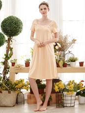I'd爱帝夏款女式蕾丝短袖裙