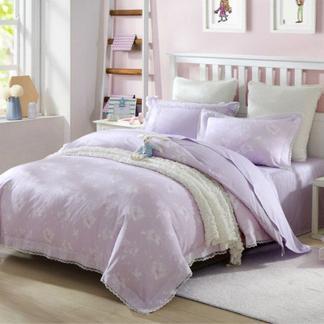 梦洁宝贝儿童纯棉三件套女孩夏季三件套霓娜幼儿三件套1.2米床1030142781