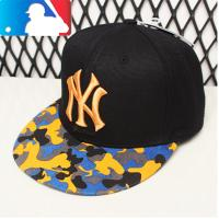 MLB棒球帽子NY洋基队潮牌街舞可调节嘻哈帽15NY3UCA0814H