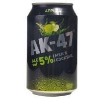 【超级生活馆】AK47鸡尾酒苹果味5度330ml(编码:557627)