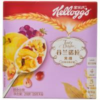 【华师店】家乐氏谷兰诺拉黄桃什锦水果盒装35g*6(条码:6958652300969)