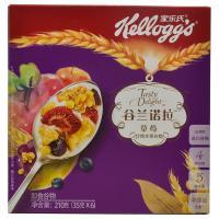 【华师店】家乐氏谷兰诺拉草莓什锦水果盒装35g*6(条码:6958652300976)