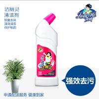 荷嫂 洁厕灵马桶清洁剂瓶装500g卫生间专用清香型杀菌除垢去味