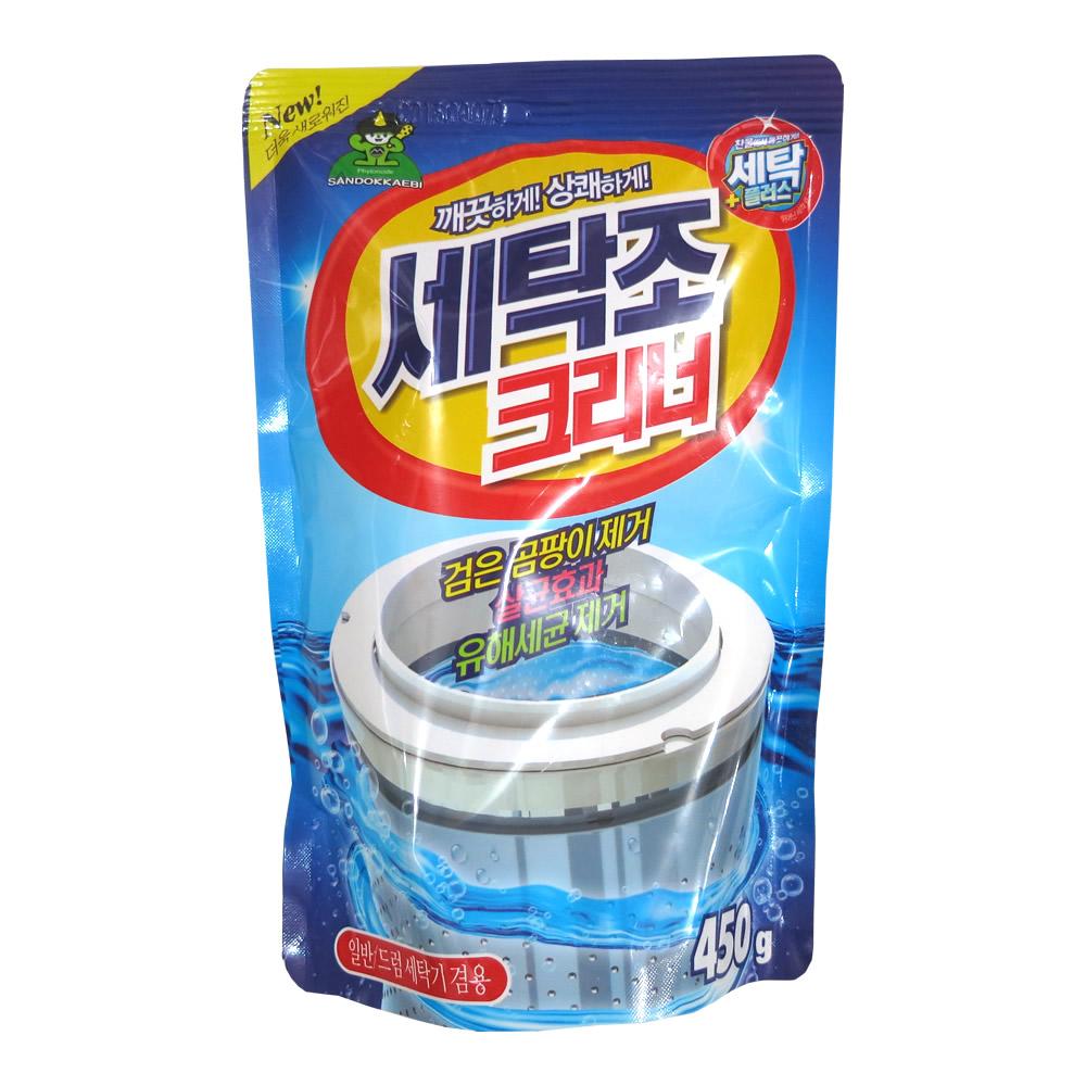 韩国 SANDOKKAEBI山鬼 洗衣机槽清洗剂  450g/一袋