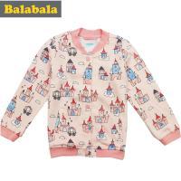 巴拉巴拉2016秋装新款 女幼童针织印花便服棒球服 21053160506