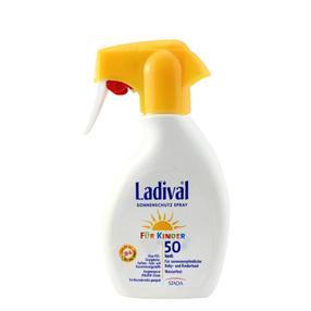 【德国直邮】Ladival 原装进口婴幼儿童  防晒乳液喷雾防晒面霜露 SPF50   200ml