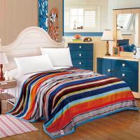 水星罗马假日毯(产品规格:180x200cm 面料:超柔绒(聚酯纤维) 净重:1050g )