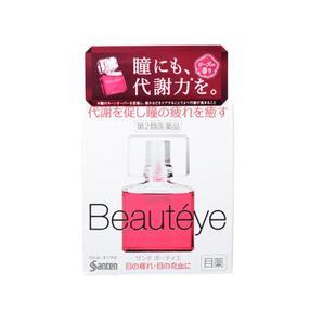 日本 参天Beautyeye  玫瑰眼药水(缓解眼疲劳充血)12ml