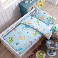 幼儿园被子三件套纯棉床单午睡全棉六件套床上用品含芯儿童床品