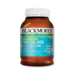 【澳洲直邮|包税包邮】Blackmores 无腥味深海鱼油400粒 1000mg