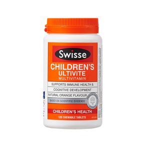 【澳洲直邮|包税包邮】Swisse儿童复合维生素矿物质咀嚼片 多种维生素120片