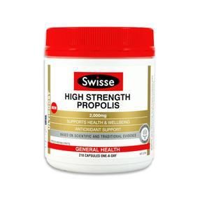 【澳洲直邮|包税包邮】Swisse高浓度蜂胶软胶囊 2000mg 210粒