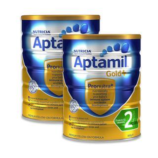 【澳洲直邮|包税包邮】Aptamil Gold爱他美金装版2段奶粉