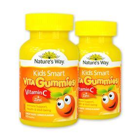 【澳洲直邮|包税包邮】Nature's Way佳思敏VC/维生素C + 锌软糖 60粒