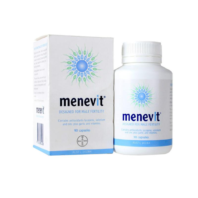 【澳洲直邮|包税包邮】Menevit男性士备孕营养素90粒