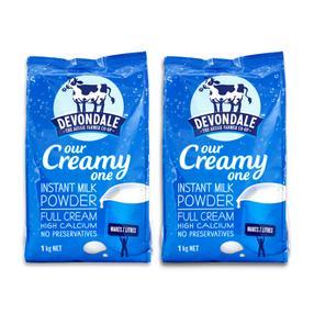 【澳洲直邮|包税包邮】Devondale德运全脂速溶高钙青少年成人纯牛奶粉1kg